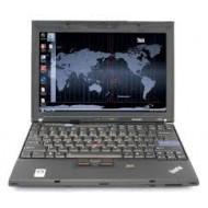 "LENOVO X200 12.1""/Centrino2Duo P8400 2.26GHz/2GB/160GB/WXGA 1280x800/3xUSB/WiFi/BlueTooth/LAN/Modem/Dokkoló - használt"